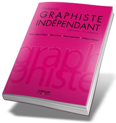 livre rose graphiste indépendant